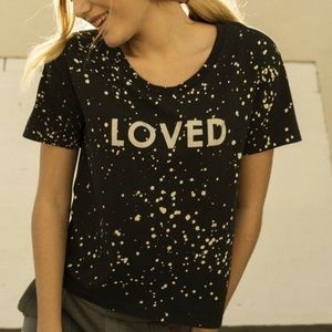 NWT peace love world Elvis tee loved T-shirt sizeS